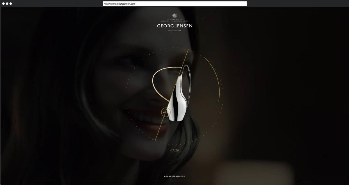 Interaktives Schenken: Eine kommerzielle Web-Erzählung