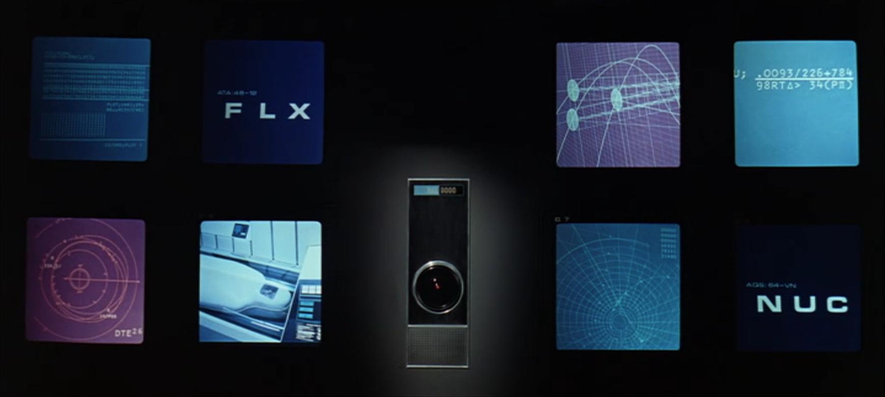 Screenshot aus: »2001: Odyssee im Weltraum« Einführung HAL