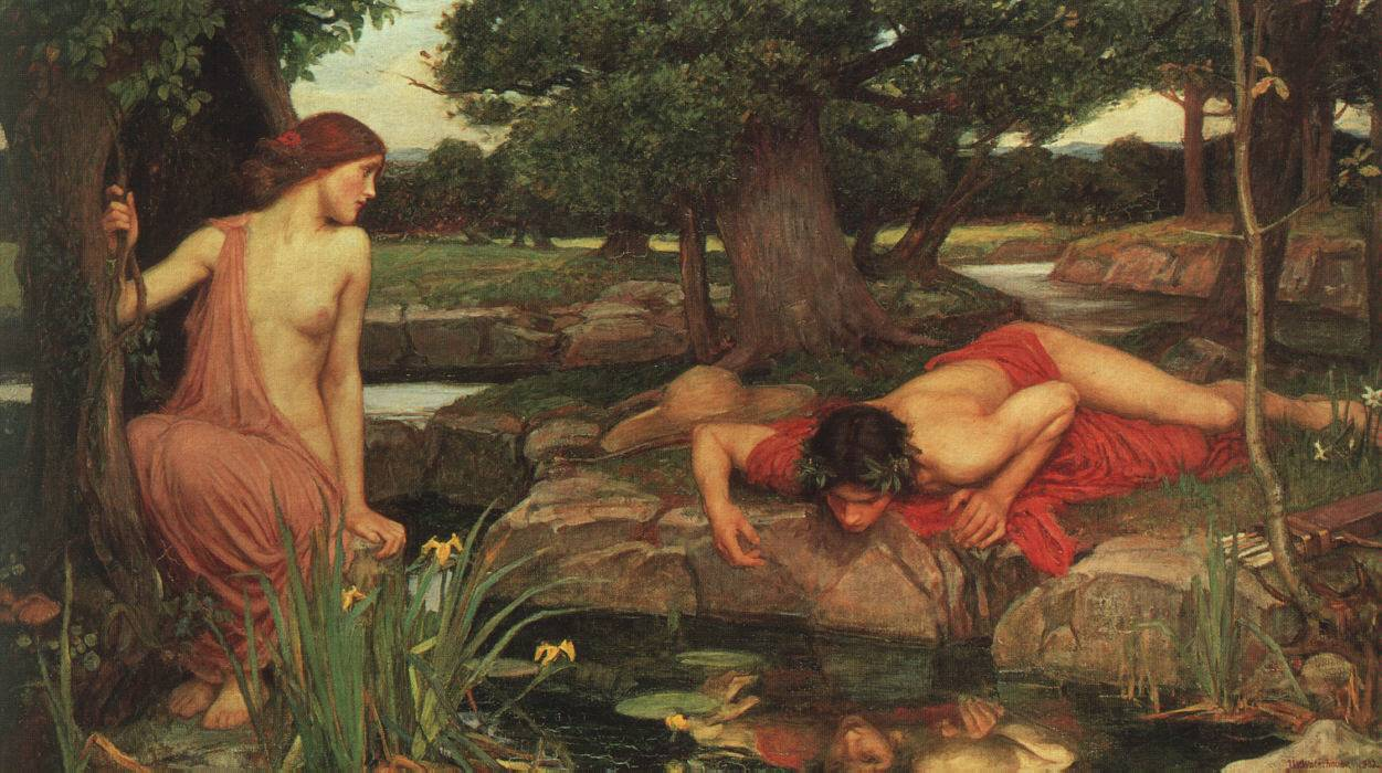 Echo and Narcissus John William Waterhouse