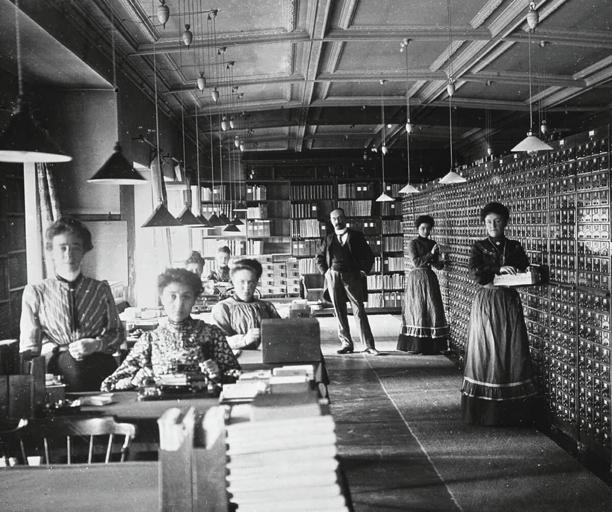 Otlets universale Bibliothek