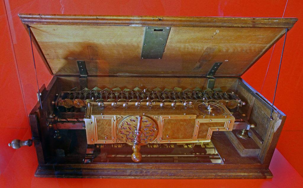 Rechenmaschine Gottfried Wilhelm Leibniz