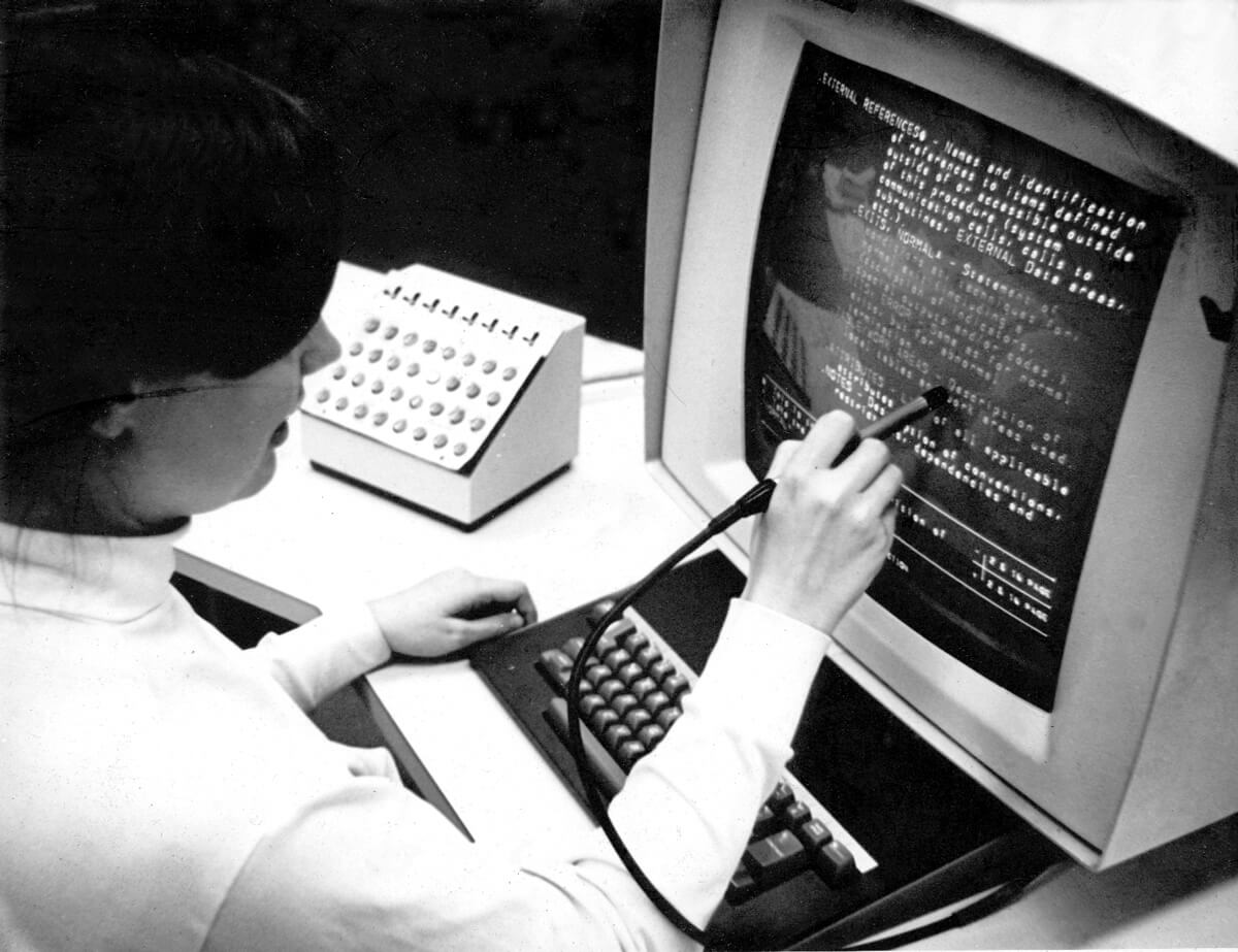 Hypertext Editing System Console Brown University 1969
