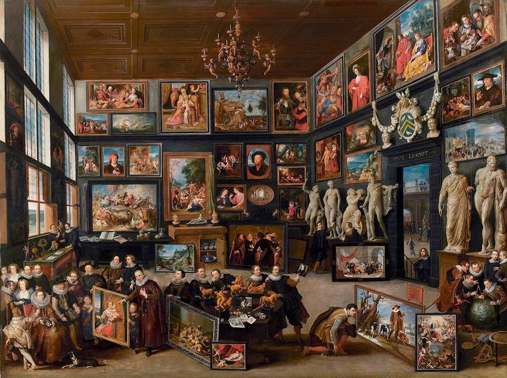 Wunderkammer von Cornelis van der Geest